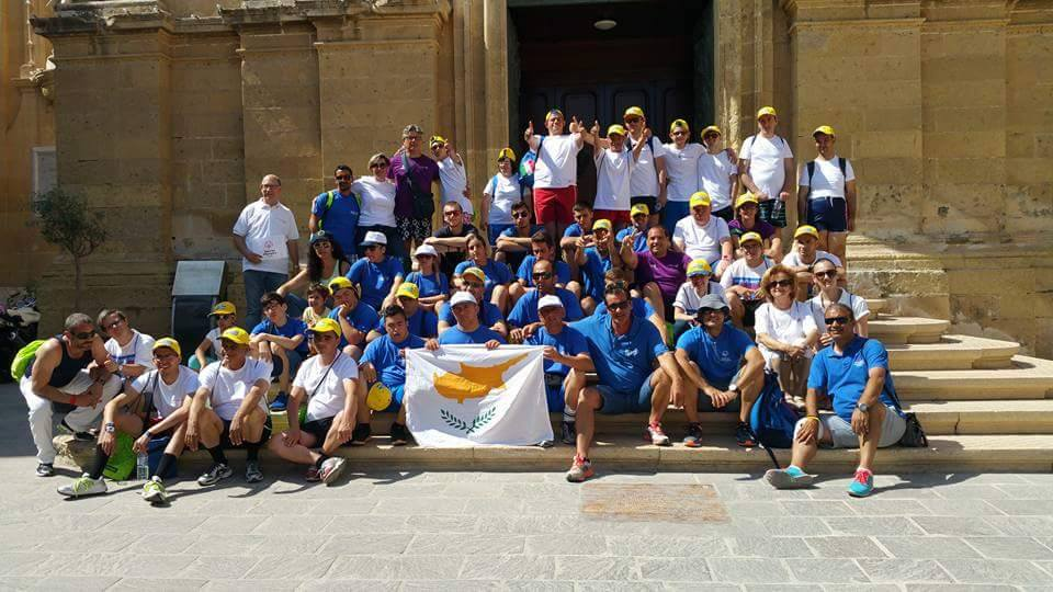 Special Olympics Cyprus Team