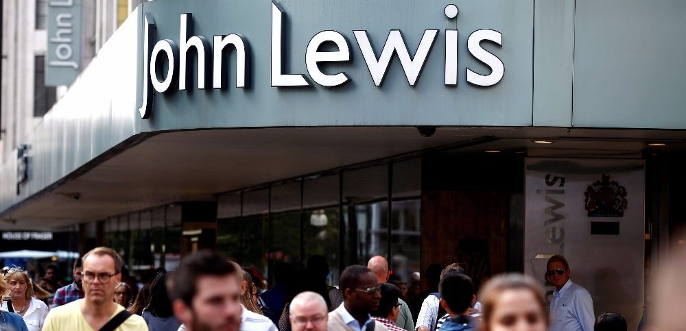 A John Lewis store is seen in Oxford street in London Britain