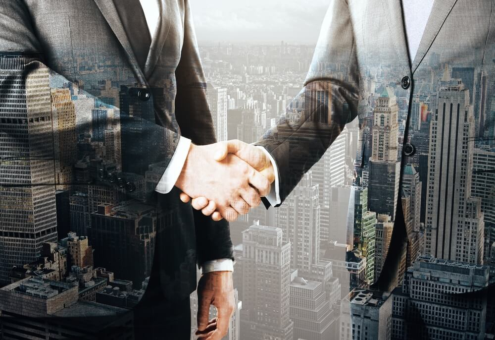 Shaking Hands on the Deal - Alvexo