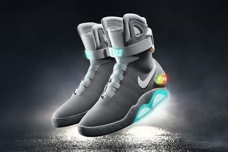 Nike's back to the future shoes