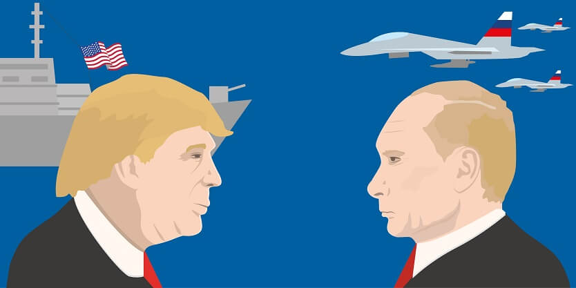 Putin and Trump - Alvexo
