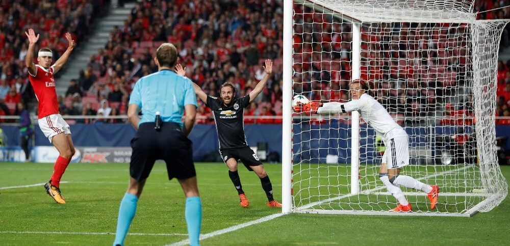 Champions League - S.L. Benfica vs Manchester United (1)
