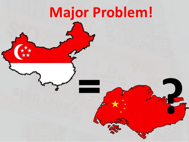 What is the problem with Singapore and China - Alvexo