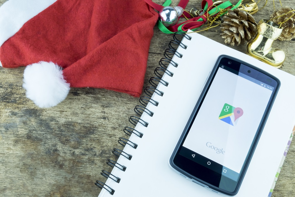 Google during Christmas Season - Alvexo