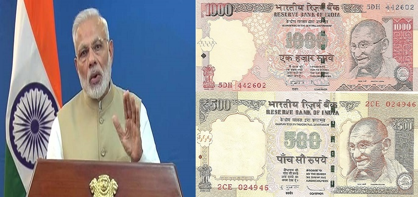 Modi Announcement of Money Ban - Alvexo