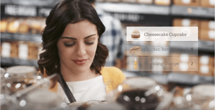 shopping online with amazon go
