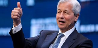 Dimon Chairman and CEO of JPMorgan Chase Co speaks during the Milken Institute Global Conference in Beverly Hills