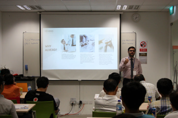 Alvexo Seminar with Speakers in Singapore