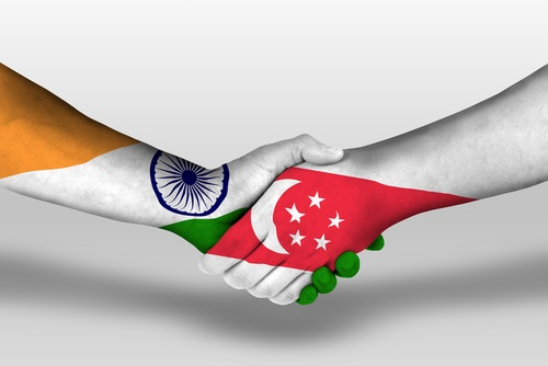 Singapore and India