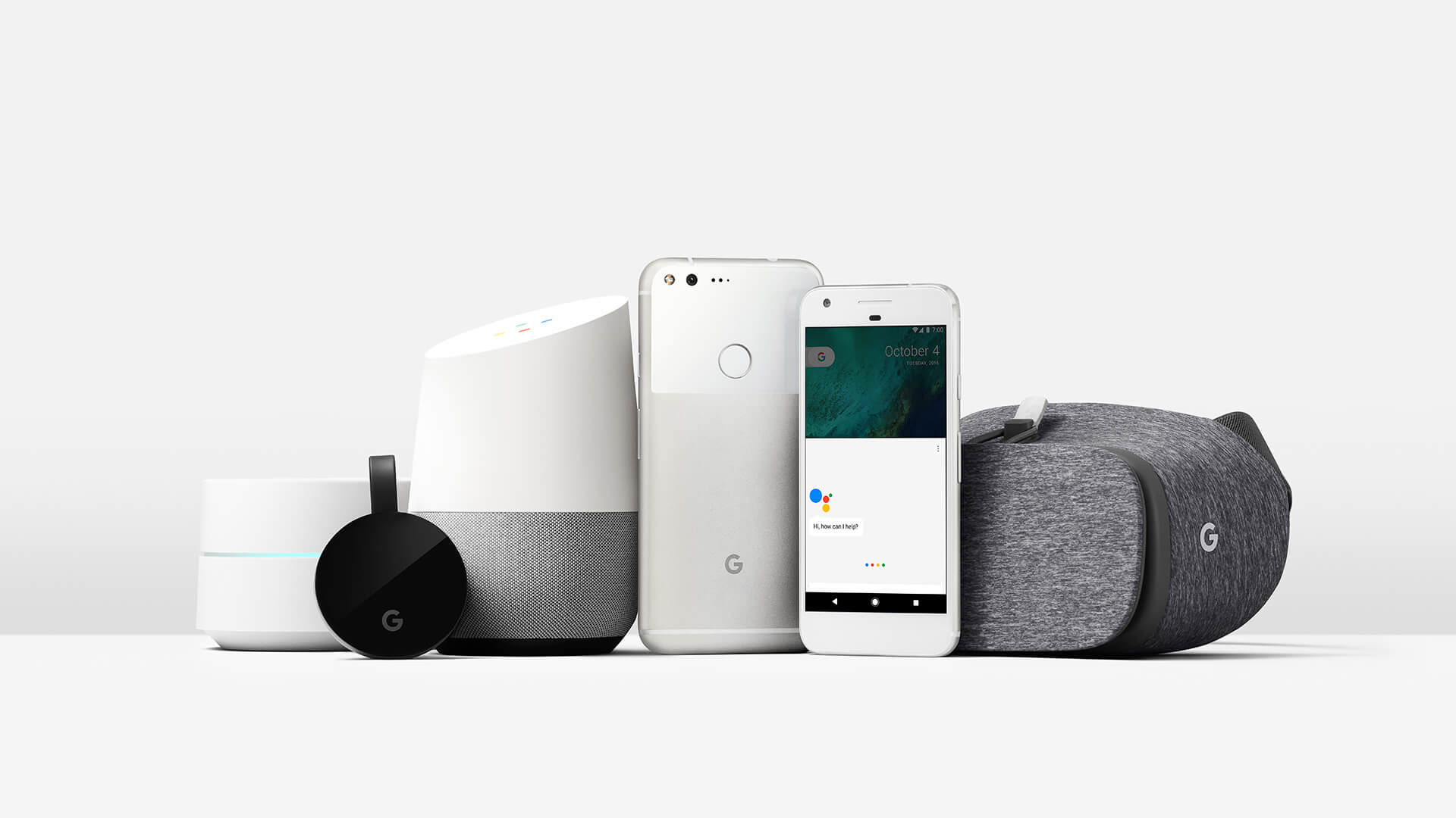 google products for the home