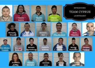 Special Olympics Cyprus Team 2017 - Winter Games
