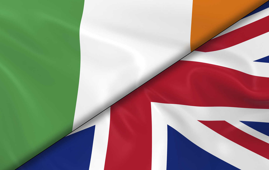 The Irish and the UK