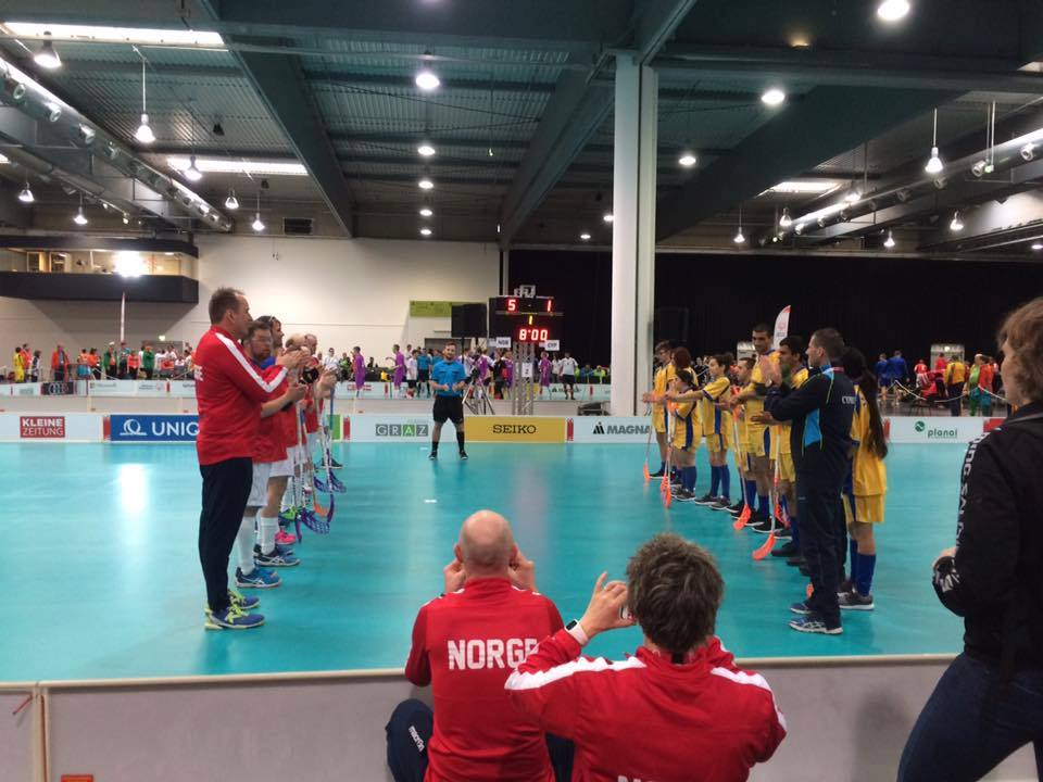 FloorBall is about to begin