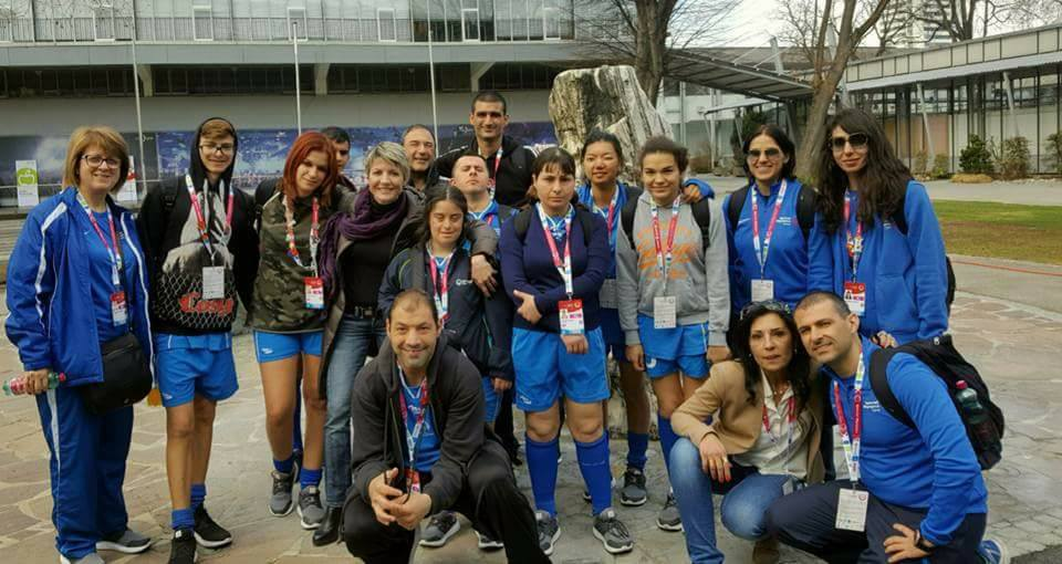 Special Olympics team Cyprus