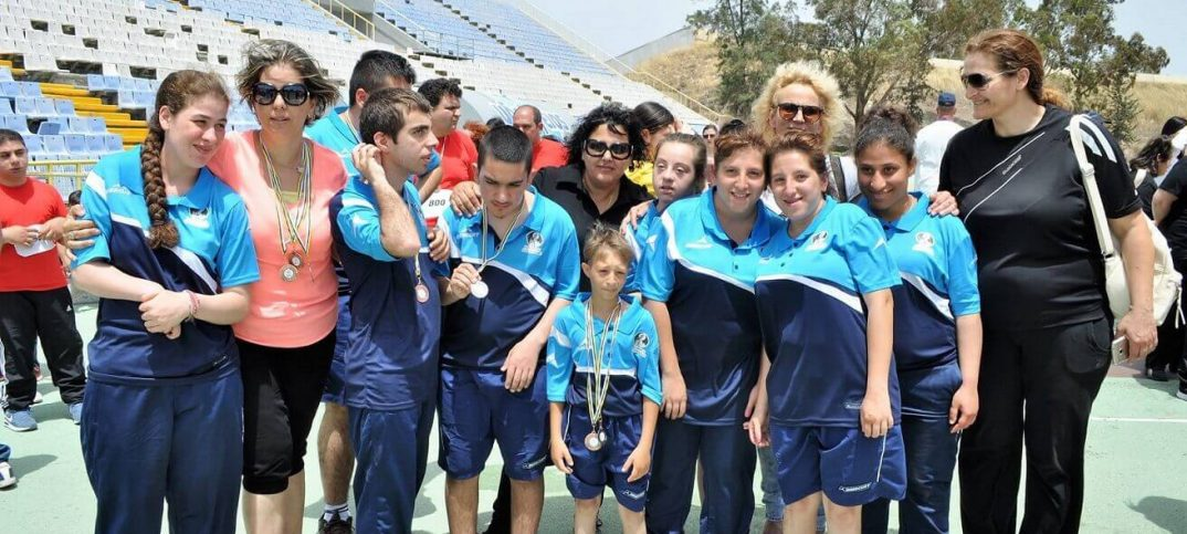 Natinoal Games Special Olympics Cyprus athletes