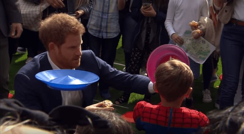 Prince Harry at Childrens Tea Party
