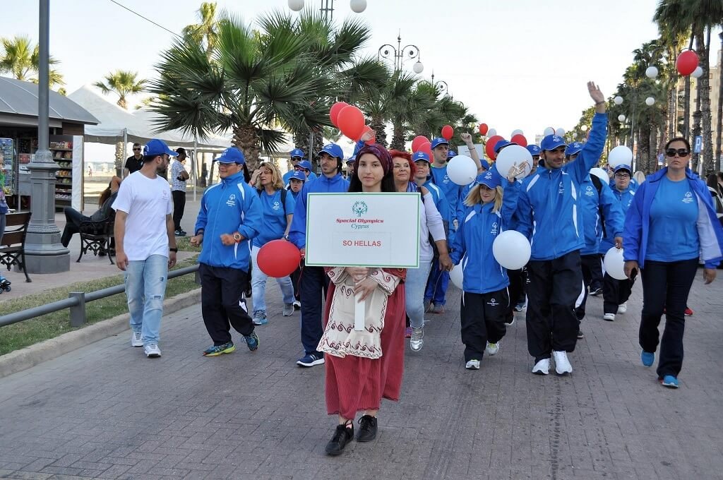 opening ceremony for special olympics cyprus