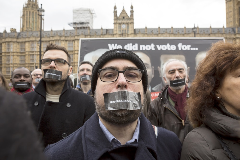 People Who Want their voices to be heard for Brexit