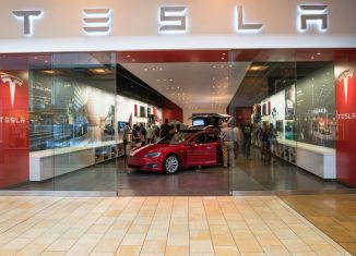 Tesla model and store