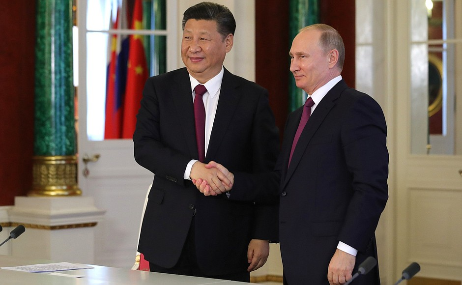china and russia stepping up