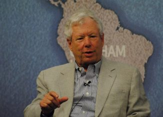 Richard Thaler an American economist and noble prize winner