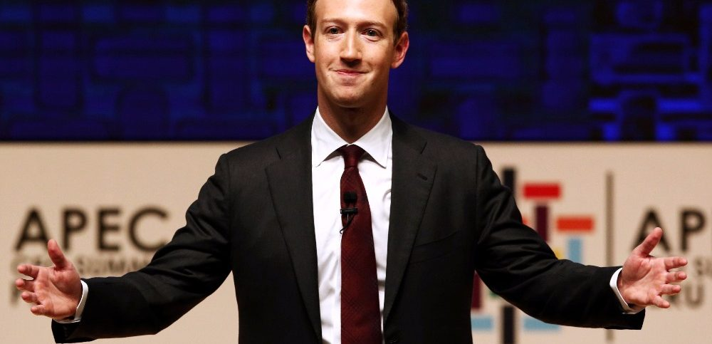 Mark Zuckerberg speaking in APEC CEO Summit in Lima