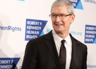 Apple CEO, Tim Cook, attends the 2015 Ripple Of Hope Awards