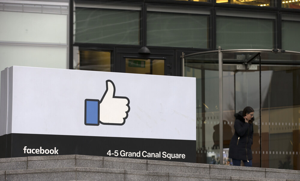 Facebook's EMEA (Europe, Middle East and Asia) headquarters at Grand Canal Square in Dublin, Ireland.