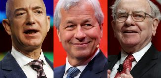 Bezos, Buffett and Dimon.