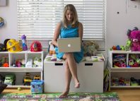Chief executive of California-based social and educational group for parents Club MomMe Rachel Pitzel