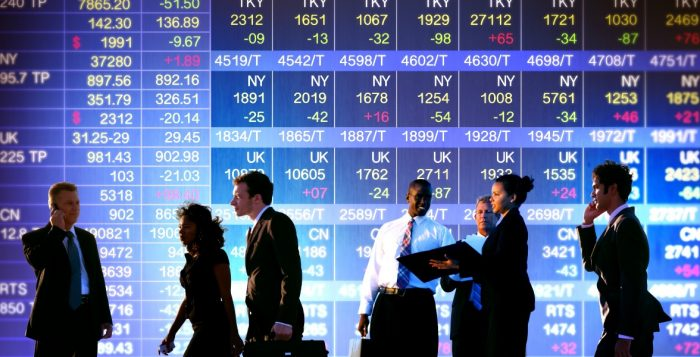 Business Stock Exchange Trading Concepts