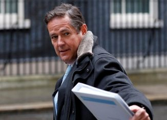 Barclays CEO Jes Staley arrives at 10 Downing Street in London
