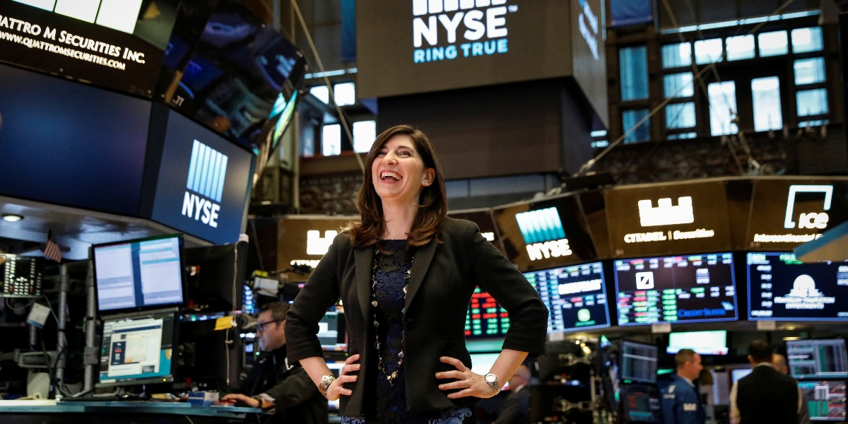 Nyse S First Female President Stacey Cunningham Alvexo