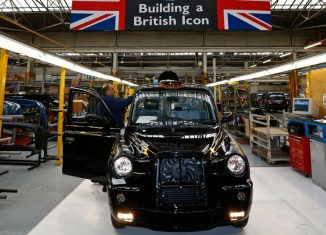 The London Taxi Company (LTC) on Wednesday restarted production of the famous black cab six months after the business was saved by Chinese car maker Geely back in 2013.