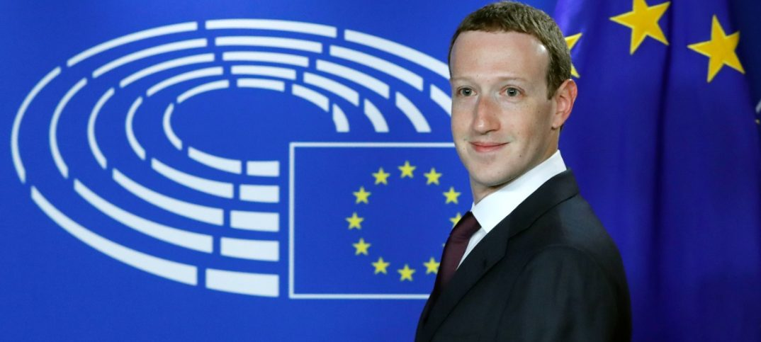 Facebooks CEO Mark Zuckerberg arrives at the European Parliament to answer questions in Brussels on May 22 2018