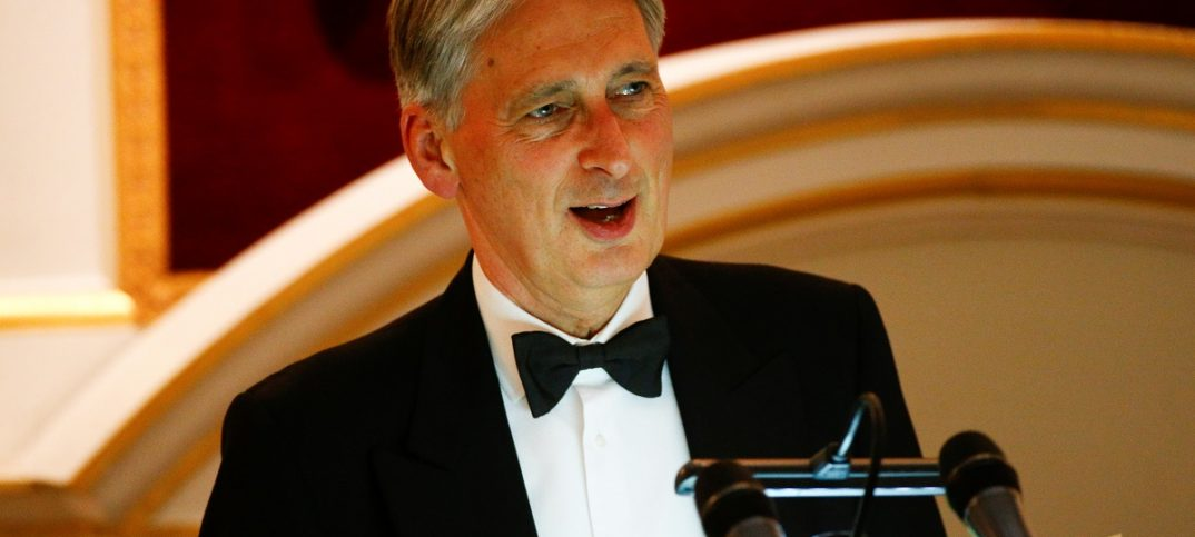 Britain's Chancellor of the Exchequer Philip Hammond: