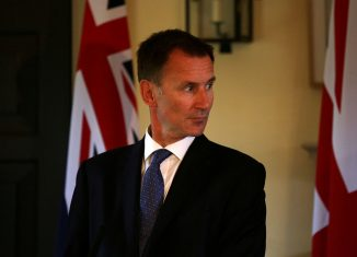 FILE PHOTO: Britain's Foreign Secretary Jeremy Hunt gives a press conference - Reuters/File Photo