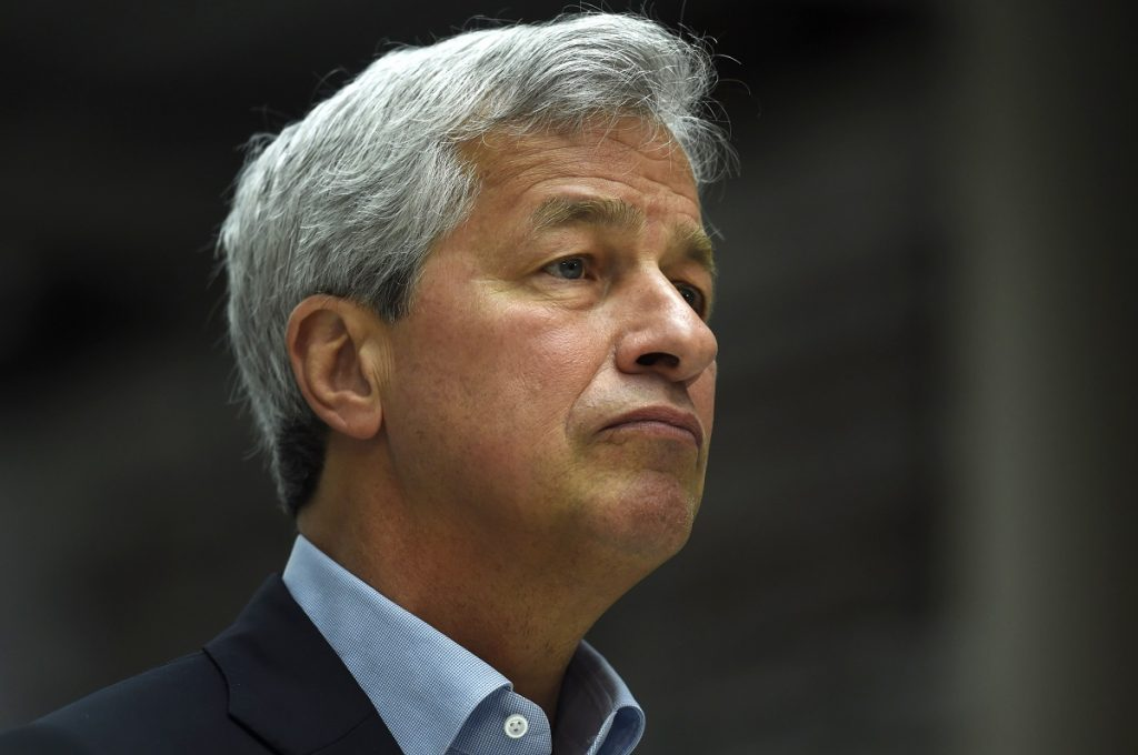 "JP Morgan CEO Jamie Dimon doesn't trust doing business with Washington because ""the next government can do whatever they want."" Image: REUTERS/Dylan Martinez"