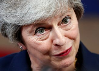 "Britain's Prime Minister Theresa May: ""Brexit deal between the U.K. and the E.U. is still achievable and not far apart."" (image: REUTERS/Francois Lenoir)"