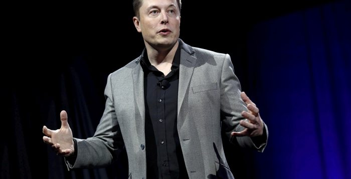 Elon Musk has brought his stake of the Tesla company to about 20 percent. (image: REUTERS/Patrick T. Fallon)
