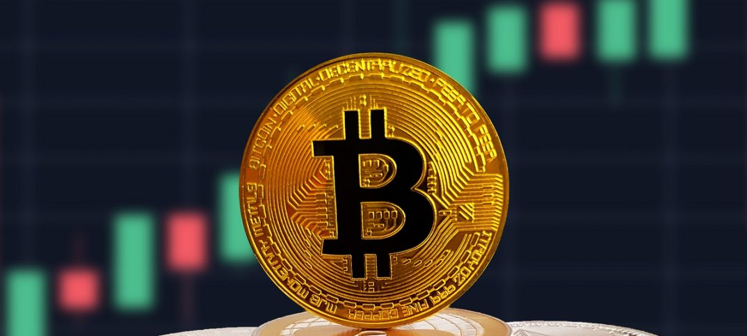 Bitcoin was among the many cryptocurrencies that experienced a widespread growth at the start of the week. (image: shutterstock.com)