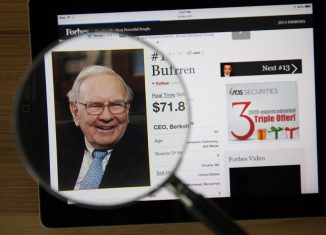 This is far from the first time the 88 year old investor has taken part in share repurchasing. (image: shutterstoco.com)