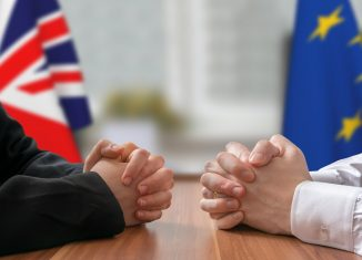 If the U.K. is able to reach a deal with the E.U. the prime minister is still required to convince her party and the rest of Parliament to vote in favor of the deal. (image: shutterstock.com)