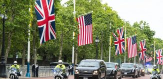 US President Donald Trump UK visit