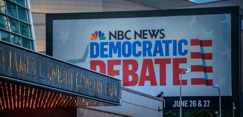 The first Democratic primary presidential debate took place on June 26 and 27