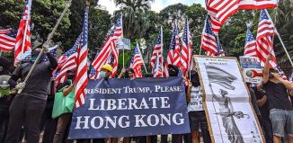 "China accuses US lawmakers of ""sinister intention to destroy Hong Kong"""