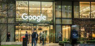 Google headquarters offices in London close to St Pancras International and Kings Cross train stations