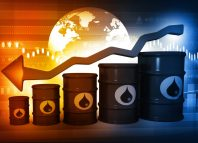 Oil prices dip below zero